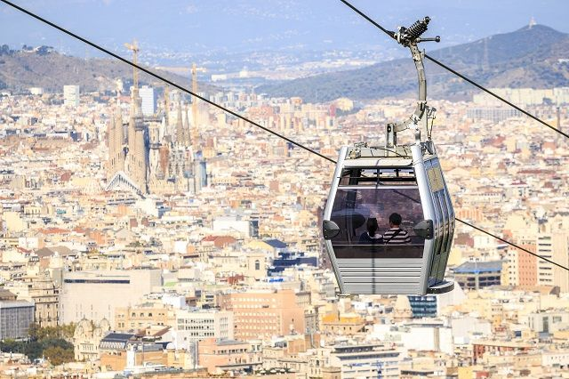 f3048e55149 Barcelona Cable Cars   funiculars